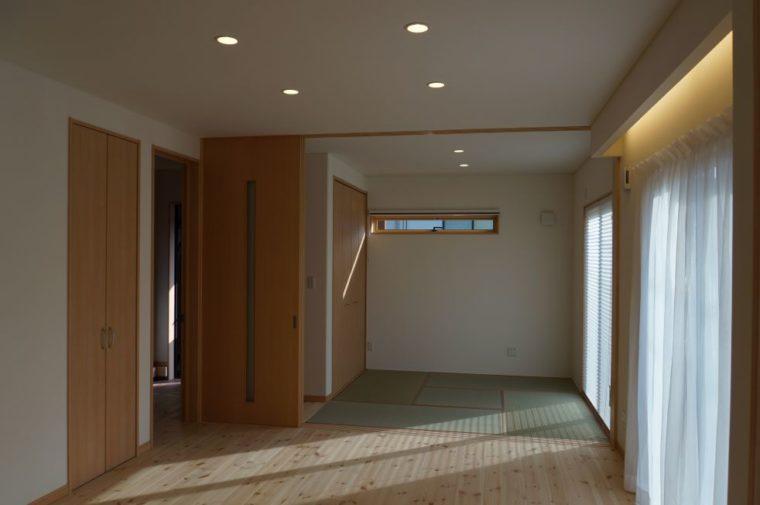 こだわりのシンプル&ナチュラルの家。/ 田上町 / K 様邸・新築