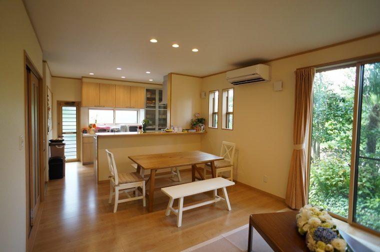 使い勝手のいいキッチンで快適な生活を実現。/ 田上町 / K 様邸・リフォーム