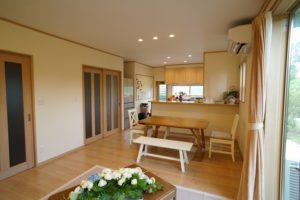 田上町:K 様邸・リフォーム/使い勝手のいいキッチンで快適な生活を実現